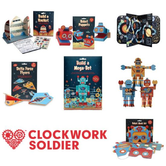 Clockwork Soldier Fold Up Models